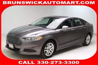 Used 2013 Ford Fusion 4dr Sdn SE FWD Sedan 3FA6P0H74DR369172 J190698A in Brunswick, OH