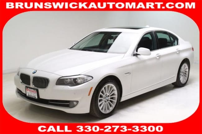 2013 BMW 535i xDrive 4dr Sdn 535i Xdrive AWD Sedan for sale in Medina, OH at Brunswick Mazda
