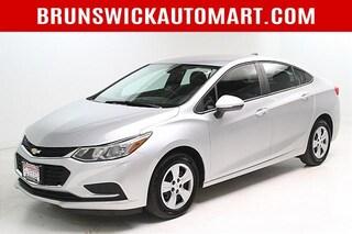 Used 2018 Chevrolet Cruze 4dr Sdn 1.4L LS w/1SB Sedan 1G1BC5SMXJ7205503 D201602A in Brunswick, OH