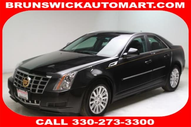 2013 CADILLAC CTS 4dr Sdn 3.0L Luxury AWD Sedan for sale in Medina, OH at Brunswick Mazda