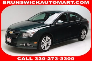Used 2014 Chevrolet Cruze 4dr Sdn LTZ Sedan 1G1PG5SB3E7412846 VW181062A in Brunswick, OH