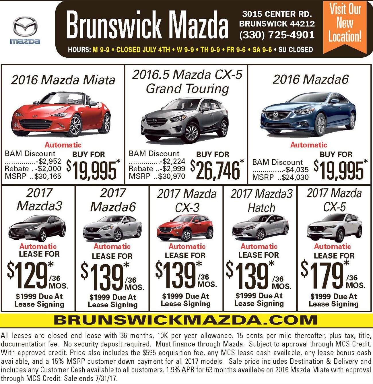 New Mazda Dealership In Brunswick, OH 44212