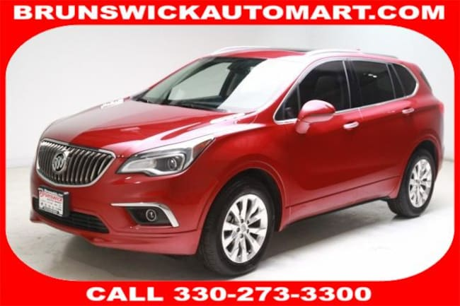 2017 Buick Envision FWD 4dr Essence SUV for sale in Medina, OH at Brunswick Mazda