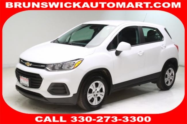 Used 2017 Chevrolet Trax FWD 4dr LS SUV for sale in the Brunswick, OH
