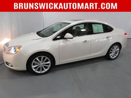 Featured Pre-Owned 2016 Buick Verano 4dr Sdn Leather Group Sedan for sale near you in Brunswick, OH