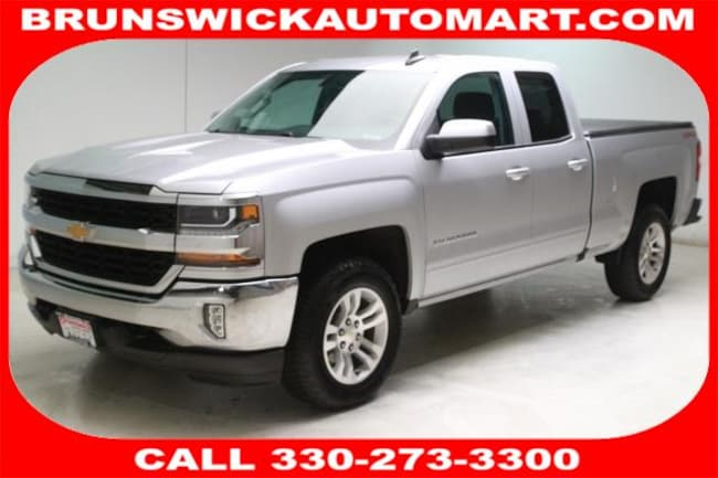 2016 Chevrolet Silverado 1500 4WD Double Cab 143.5 LT w/1LT Truck Double Cab for sale in Medina, OH at Brunswick Mazda