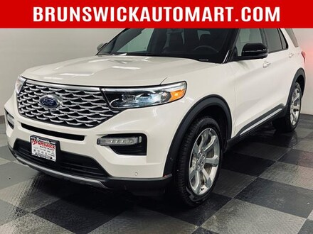 Featured Pre-Owned 2020 Ford Explorer Platinum 4WD SUV for sale near you in Brunswick, OH