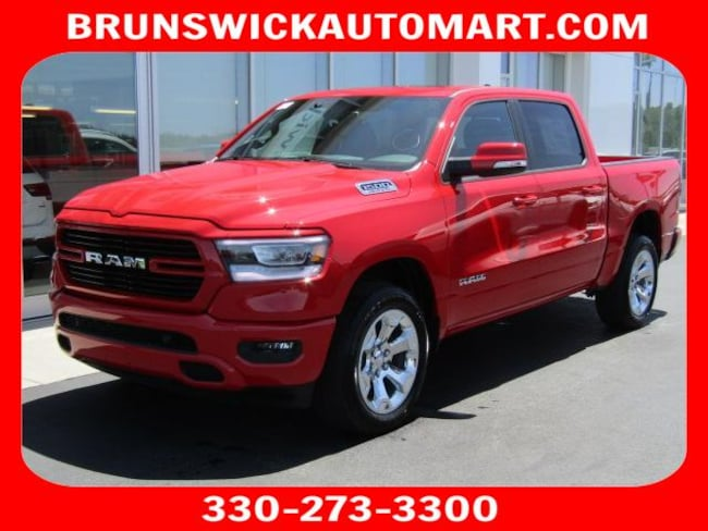 New 2019 Ram 1500 BIG HORN / LONE STAR CREW CAB 4X4 6'4 BOX Crew Cab for sale in the Brunswick, OH