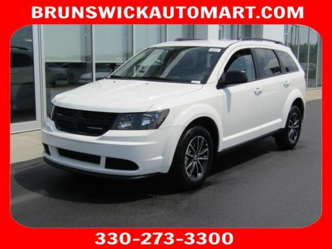New 2018 Dodge Journey SE Sport Utility for sale in the Brunswick, OH