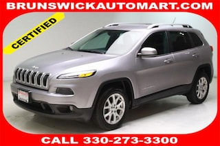 Certified Pre-Owned 2018 Jeep Cherokee Latitude FWD SUV R10698 in Brunswick, OH