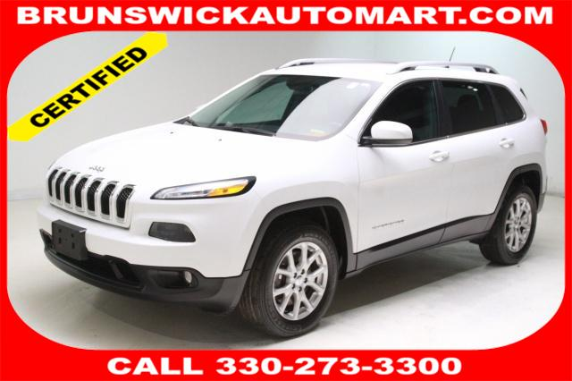 Featured Pre-Owned 2016 Jeep Cherokee Latitude 4x4 SUV for sale near you in Brunswick, OH