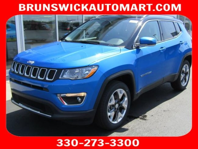 New 2018 Jeep Compass LIMITED FWD Sport Utility for sale in the Brunswick, OH