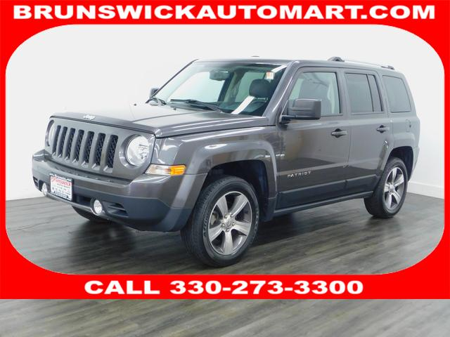 Featured Pre-Owned 2016 Jeep Patriot Latitude 4x4 SUV for sale near you in Brunswick, OH