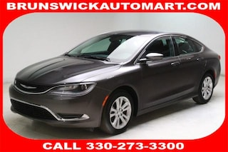 Used 2015 Chrysler 200 Limited Sedan 1C3CCCAB3FN623280 D190616A in Brunswick, OH