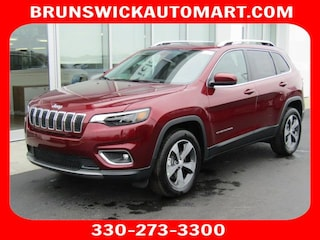 New 2019 Jeep Cherokee LIMITED 4X4 Sport Utility J190406 in Brunswick, OH