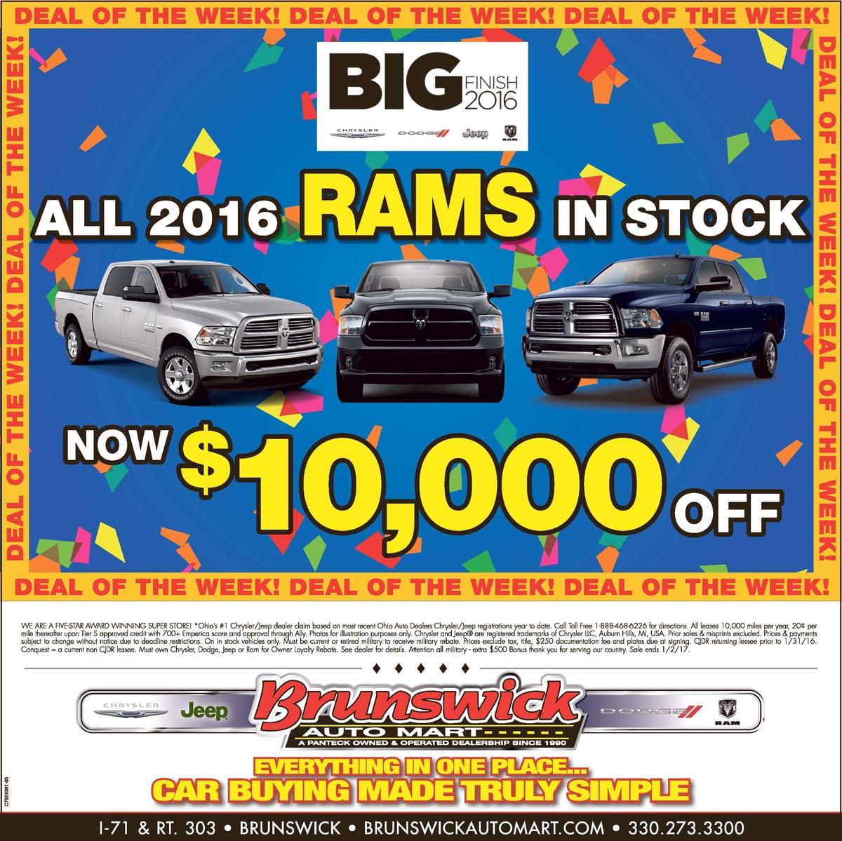 Brunswick Auto Mart >> Newspaper Ads   near Akron, OH   Brunswick Auto Mart