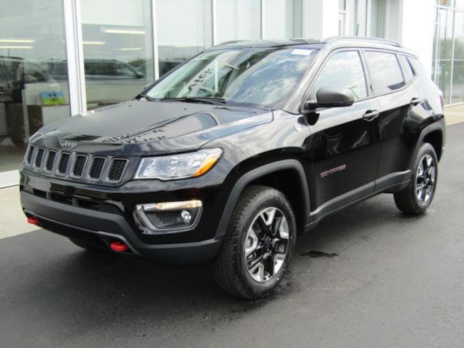 New 2018 Jeep Compass TRAILHAWK 4X4 Sport Utility for sale in the Brunswick, OH