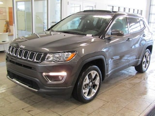 New 2018 Jeep Compass LIMITED 4X4 Sport Utility J181123 in Brunswick, OH