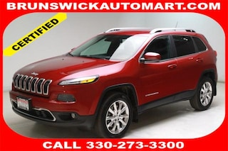 Certified Pre-Owned 2014 Jeep Cherokee Limited 4x4 SUV M190145A in Brunswick, OH