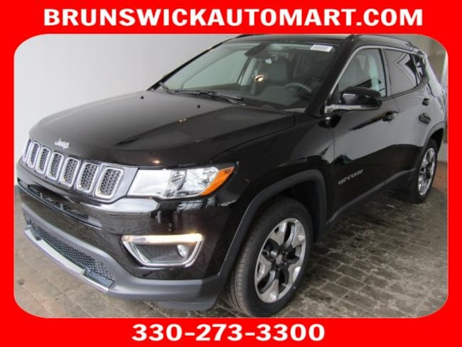 New 2018 Jeep Compass LIMITED 4X4 Sport Utility for sale in the Brunswick, OH