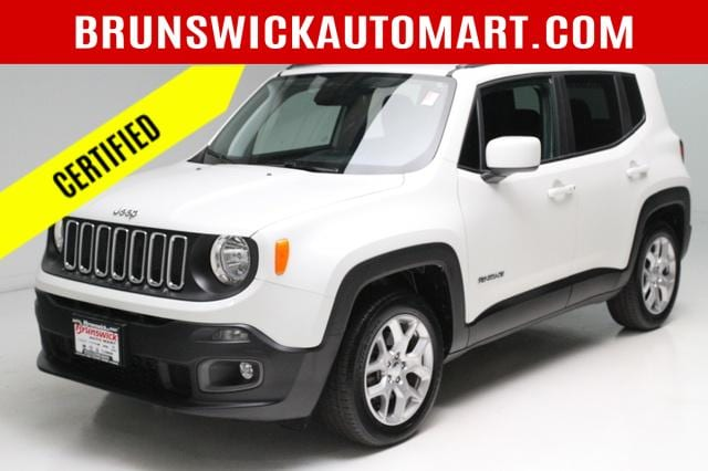 Featured Pre-Owned 2018 Jeep Renegade Latitude FWD SUV for sale near you in Brunswick, OH
