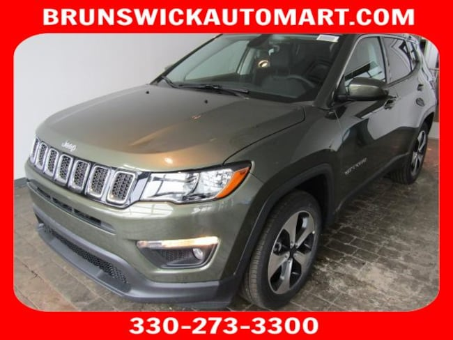 New 2018 Jeep Compass LATITUDE FWD Sport Utility for sale in the Brunswick, OH