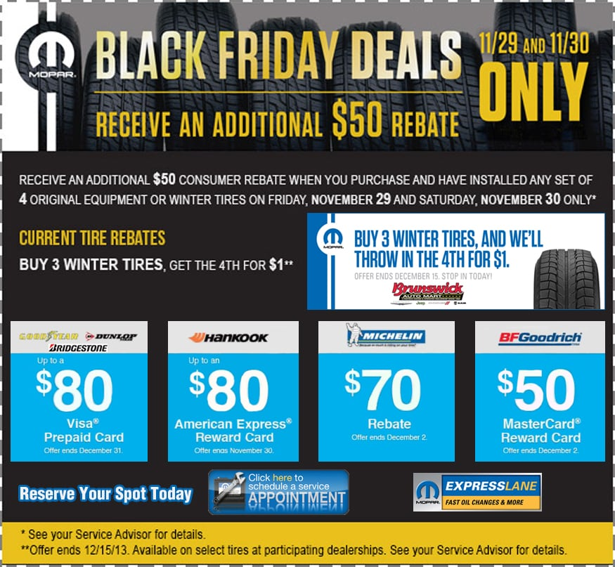 black friday deals on winter tires