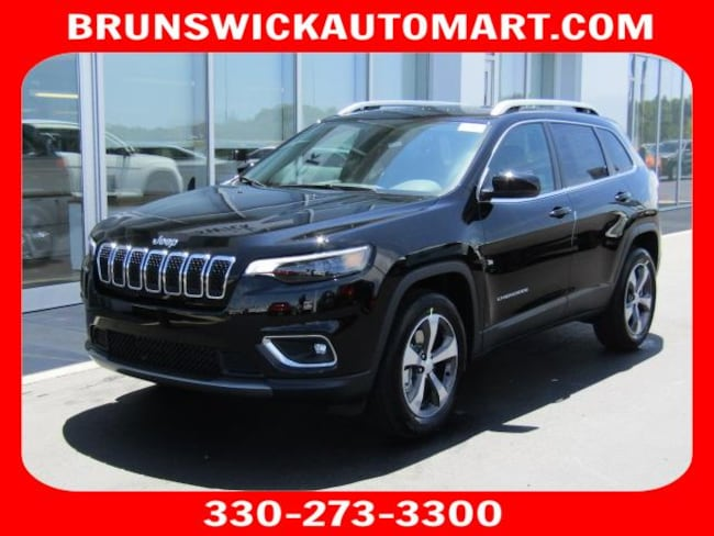 New 2019 Jeep Cherokee LIMITED 4X4 Sport Utility for sale in the Brunswick, OH