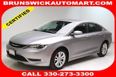2015 Chrysler 200 Limited Sedan 1C3CCCAB3FN568779 for sale in Medina, OH at Brunswick Mazda