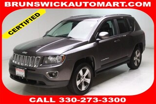 Used 2016 Jeep Compass Latitude 4x4 SUV 1C4NJDEB3GD674277 J190273A in Brunswick, OH