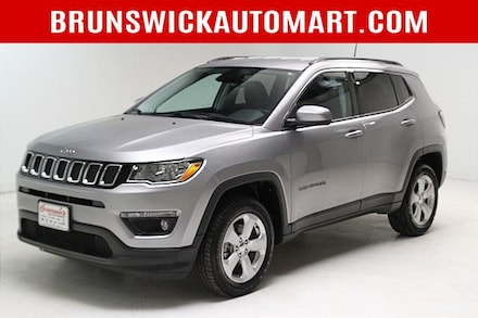 Featured Pre-Owned 2018 Jeep Compass Latitude 4x4 SUV for sale near you in Brunswick, OH