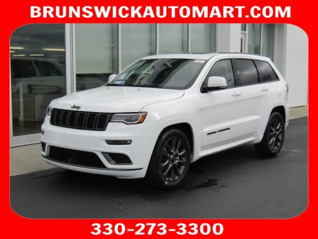 New 2019 Jeep Grand Cherokee HIGH ALTITUDE 4X4 Sport Utility for sale in the Brunswick, OH