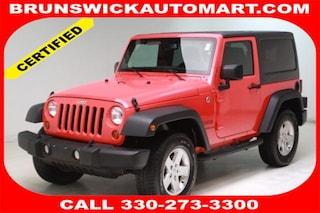 Used 2013 Jeep Wrangler Sport SUV 1C4AJWAG7DL631767 VW180980A in Brunswick, OH