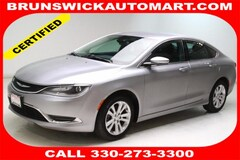 2015 Chrysler 200 Limited Sedan 1C3CCCAB0FN547792 for sale in Medina, OH at Brunswick Mazda