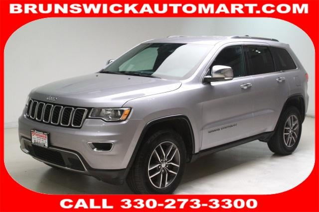 Featured Pre-Owned 2018 Jeep Grand Cherokee Limited 4x4 SUV for sale near you in Brunswick, OH