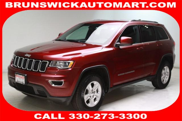 Featured Pre-Owned 2017 Jeep Grand Cherokee Laredo 4x4 SUV for sale near you in Brunswick, OH