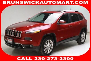 Certified Pre-Owned 2016 Jeep Cherokee Limited 4x4 SUV J191054A in Brunswick, OH