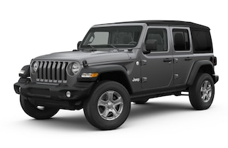New 2018 Jeep Wrangler UNLIMITED SPORT S 4X4 Sport Utility J182379 in Brunswick, OH