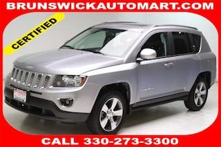 Used 2017 Jeep Compass Latitude FWD SUV 1C4NJCEA2HD150640 J182438A in Brunswick, OH