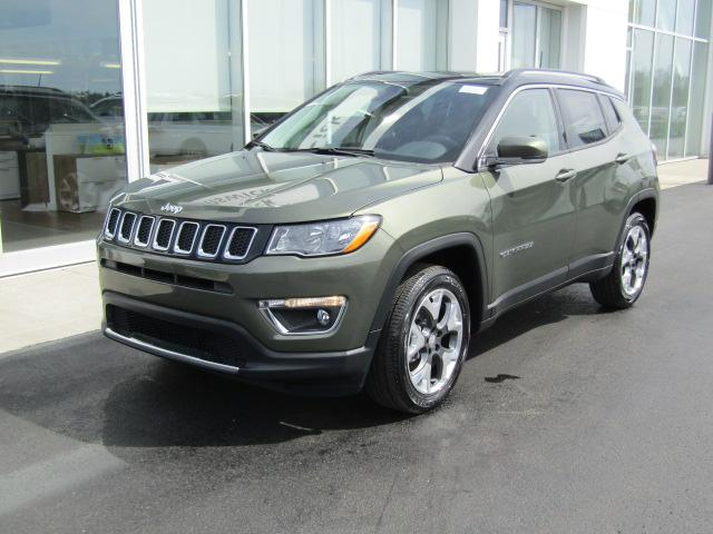 Featured New 2018 Jeep Compass LIMITED FWD Sport Utility for sale near you in Brunswick, OH