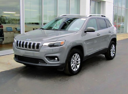 Featured New 2020 Jeep Cherokee LATITUDE PLUS 4X4 Sport Utility for sale near you in Brunswick, OH