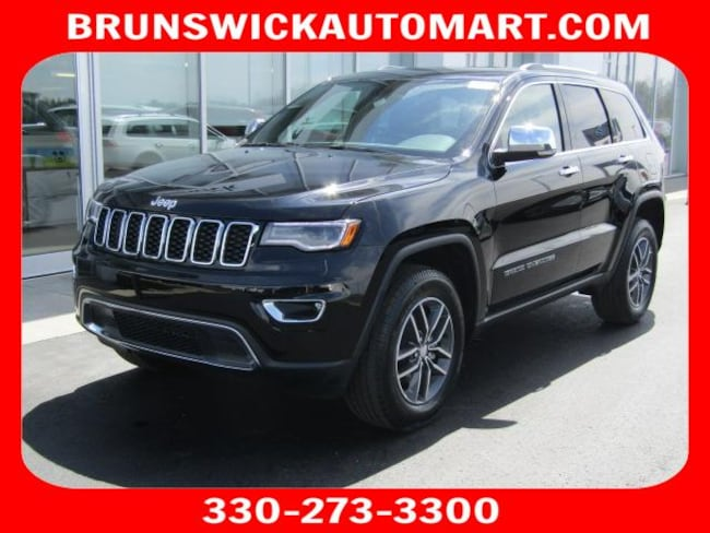 New 2018 Jeep Grand Cherokee LIMITED 4X4 Sport Utility for sale in the Brunswick, OH