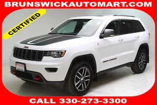 Certified Pre-Owned 2017 Jeep Grand Cherokee Trailhawk 4x4 SUV T191511A for sale near you in Brunswick, OH