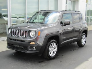 New 2018 Jeep Renegade LATITUDE 4X2 Sport Utility J182322 in Brunswick, OH