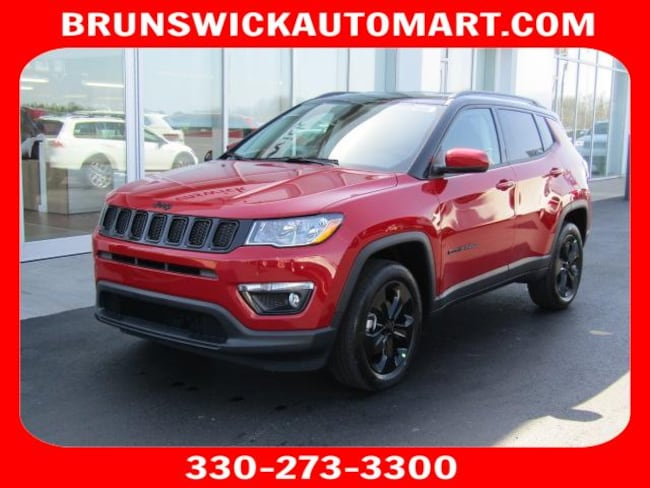 New 2018 Jeep Compass ALTITUDE 4X4 Sport Utility for sale in the Brunswick, OH