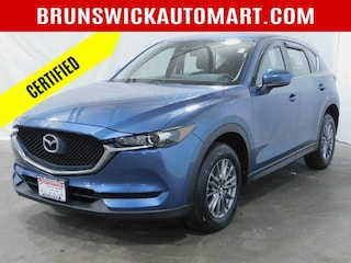 Certified Pre-Owned 2017 Mazda CX-5 Sport AWD Sport Utility M200122A for sale near you in Brunswick, OH