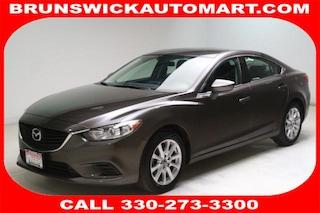 Used 2016 Mazda Mazda6 i Sport Sedan JM1GJ1U52G1448803 J182068A in Brunswick, OH