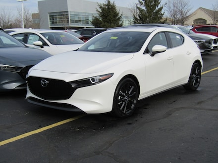 Featured New 2021 Mazda Mazda3 Premium Package Hatchback for sale in Brunswick OH