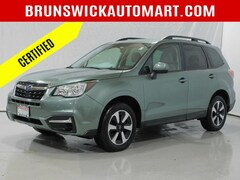 Used 2018 Subaru Forester 2.5i Premium CVT SUV SB193357A for sale in Brunswick, Ohio at Brunswick Subaru