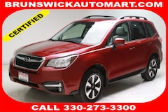 Certified Pre-Owned 2018 Subaru Forester 2.5i Premium CVT SUV for Sale in Brunswick, OH